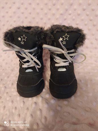 Buty zimowe, śniegowce Lupilu rozmiar 21