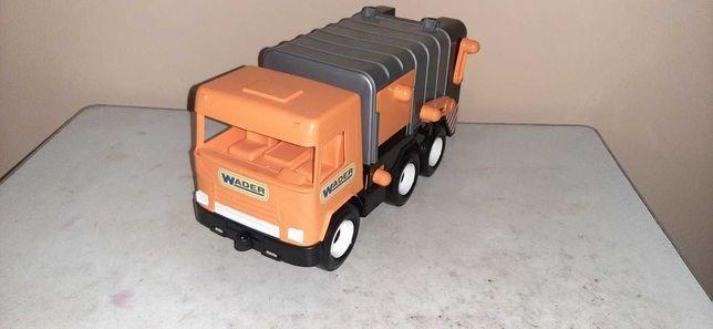 Машинка грузовик мусоровоз Wader