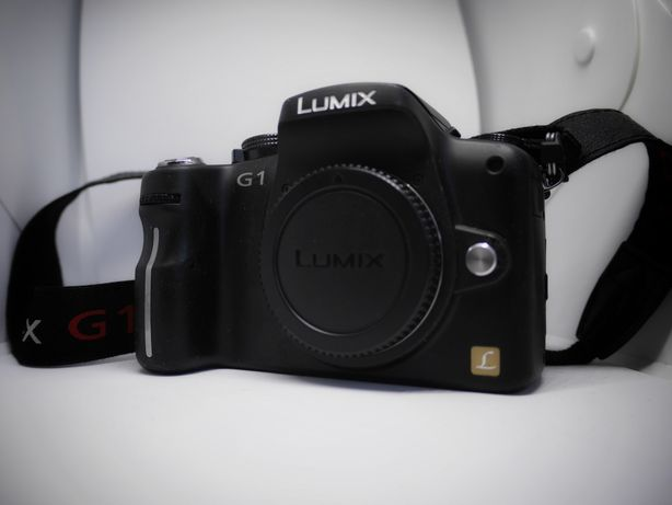 Lumix G1 body duży zestaw 2x bateria torba pasek dekiel