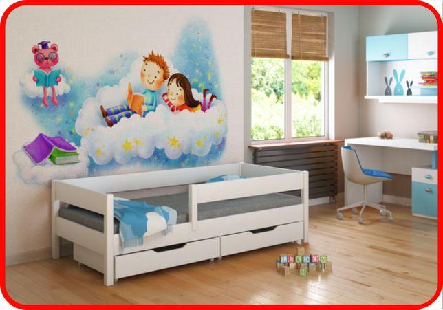 Дитяче ліжко з бортиком 140x70 160x80 180*80 180x90 200x90 -Ль