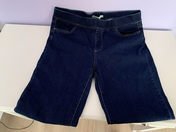 spodnie jeansowe ciemne roz. 44