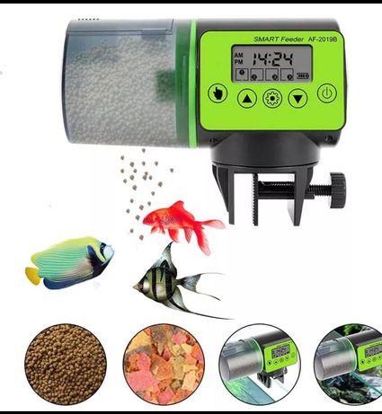 Alimentador automático para peixes aquário