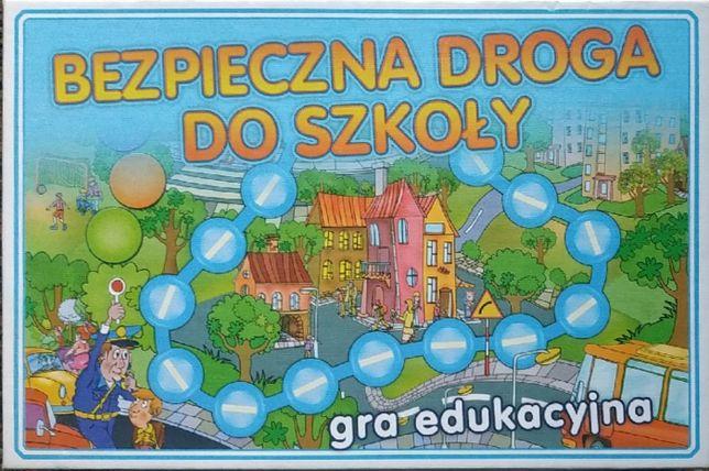 Gra edukacyjna bezpieczna droga do szkoły