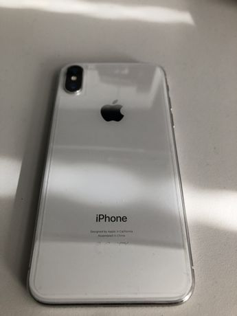Apple iPhone X 64gb silver / biały