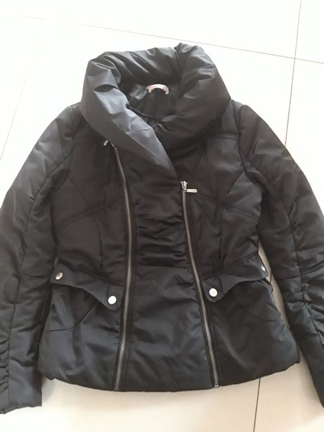 ORSAY czarna kurtka przejściowa wiosna wiosenna 36