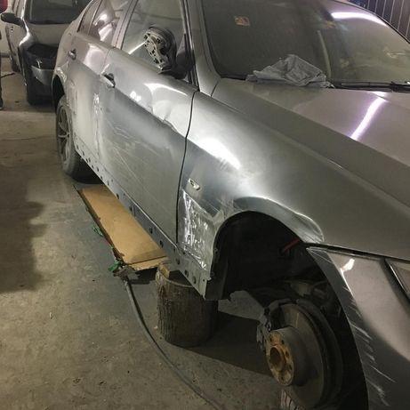Покраска авто,полировка,ремонт бамперов,рихтовка.
