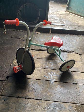 Велосипед трёхколёсный. Антиквариат