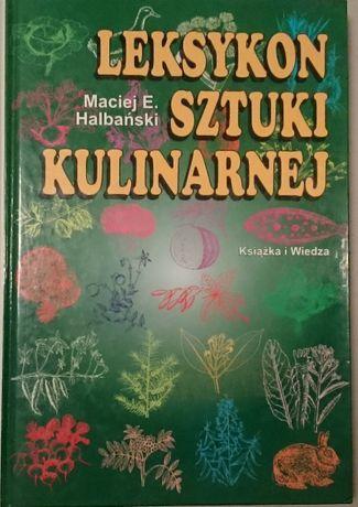 M. Halbański - Leksykon sztuki kulinarnej
