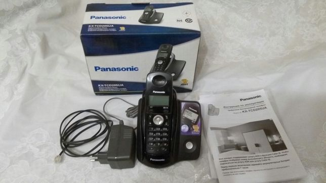 Радиотелефон Panasonik KX -TCD205UA