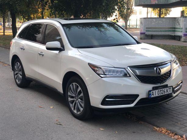 Acura MDX 3, 2016 (12/2015), белый цвет