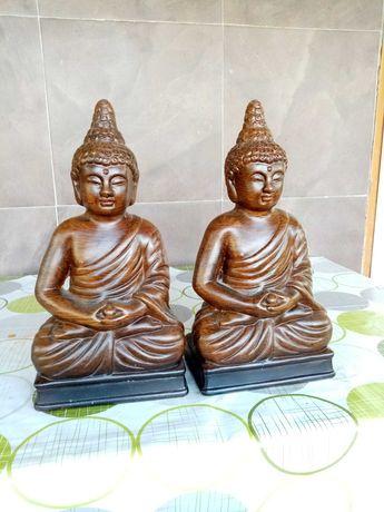 Budda siedzący 2 figurki