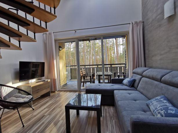 Apartament nad morzem Pogorzelica noclegi urlop wolny weekend w lesie