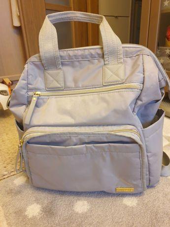 Plecak dla Mamy, Skip Hop Main Frame Wide Open, kolor cement