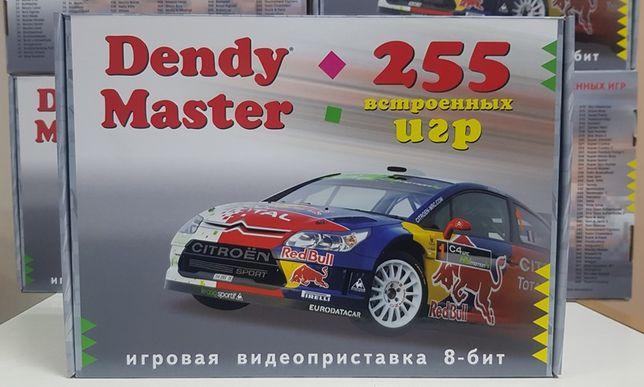 НОВЫЕ 8-ми битная приставка Dendy Master 255 игр сюбор Гарантия картри