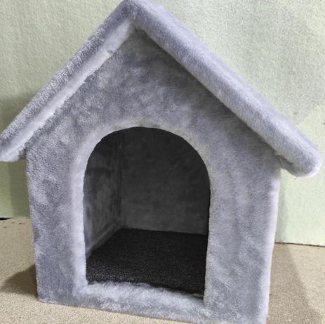 Будка-домик из меха для собаки . Ручная работа. Nastya-69