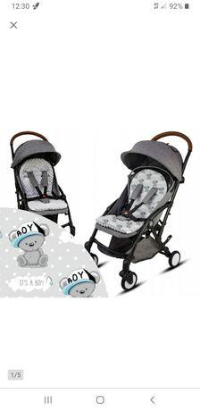 Dwustronna wkładka do wózka BabyMam