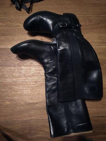 Сапоги женские  кожаные фирменные то