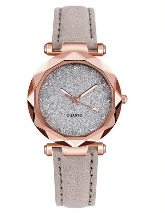 zegarek damski NOWY + GRATIS Popielaty brokatowy wysyłka lub odbiór