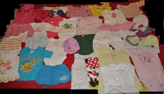 Body, bluzy, sukienki, śpiochy 68-80, Carters, Gap, paka,Disney,zestaw