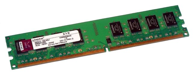 Kingston 2 Гб DDR2 800 МГц (PC2-6400) = 550/450 руб + ГАРАНТИЯ - ГОД