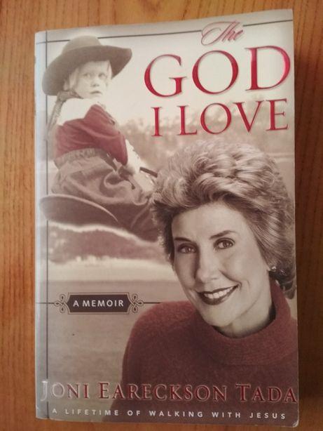 "Книга на английском Джони Ерексон Тада, ""Боже, я люблю"""
