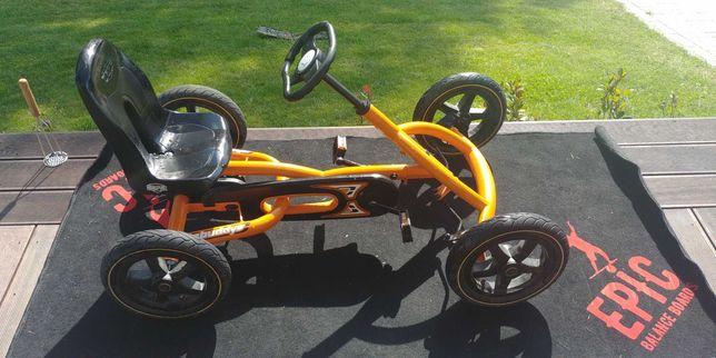 Gokart, pojazd 4 kołowy  na pedały BERG Buddy B-Orange
