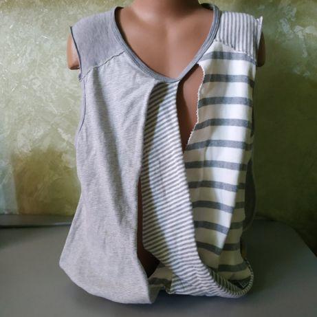 Крутая рваная футболка р. XS, S (Италия)