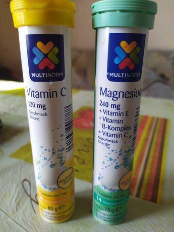 Магнезия и витамин С шипучие Multinorm
