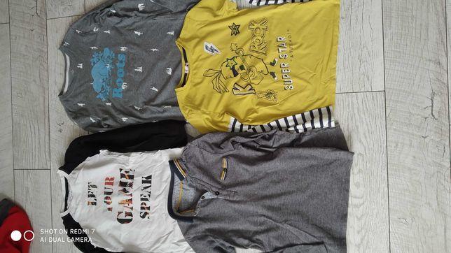 Paka,zestaw ubrań r.140,bluzka,bluza , spodnie