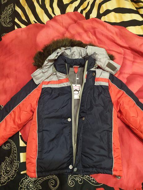 Новая Куртка детская(мальчик) Зима