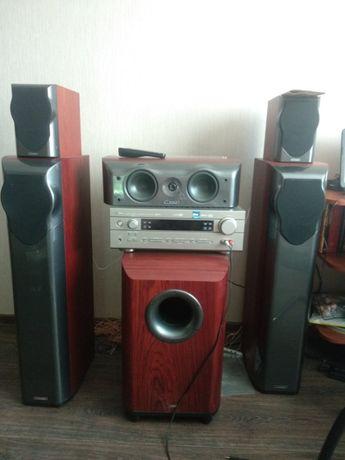Аудио система Mission m-series + Ресивер Yamaha RX-V440RDS