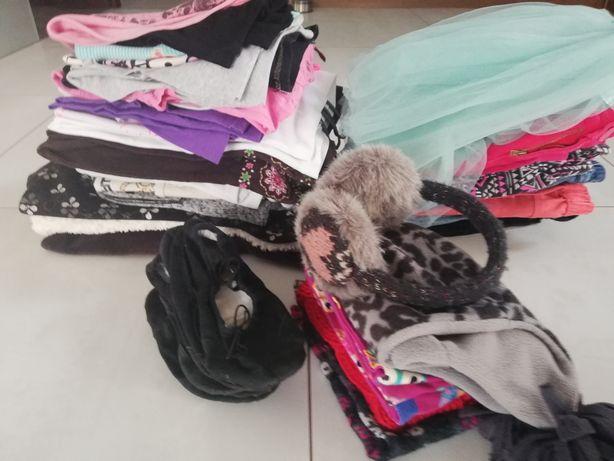 Zestaw, paka ubrań dla dziewczynki 146-152