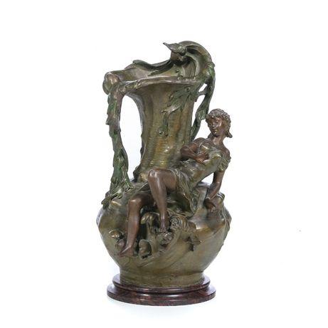 Jarra Bronze Arte Virgile Morey