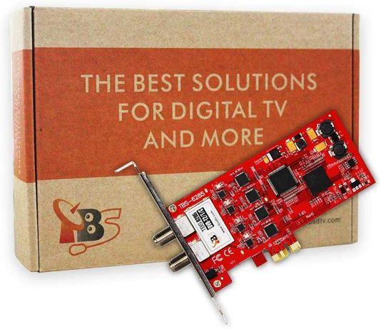 Placa TV Cabo/TDT TBS6285 Quad Tuner PCIe