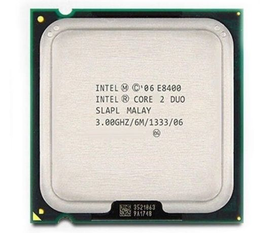 S775 Intel Core™2 Duo E8400 (2 ядра, 3 GHz 1333 MHz 6 MB)