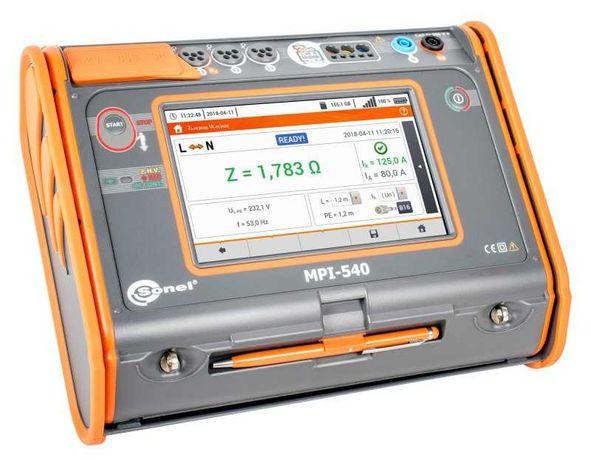 Sonel MPI-530, MPI-540 wynajęcie miernika, pomiary, fotowoltaika