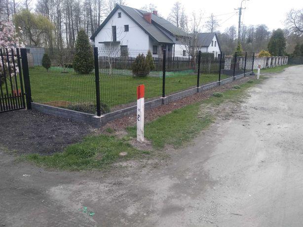 Ogrodzenia panelowe,betonowe,bramy,furtki,montaż