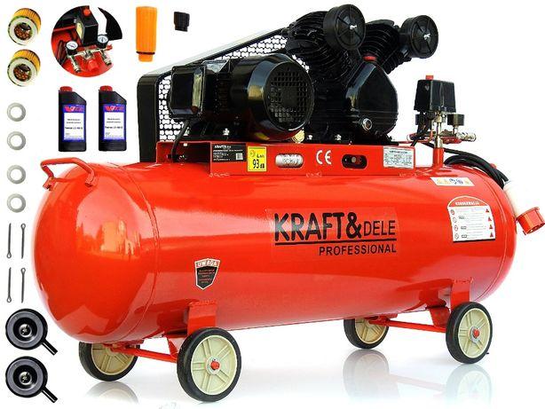 KOMPRESOR KD407 olejowy 200L sprężarka powietrza