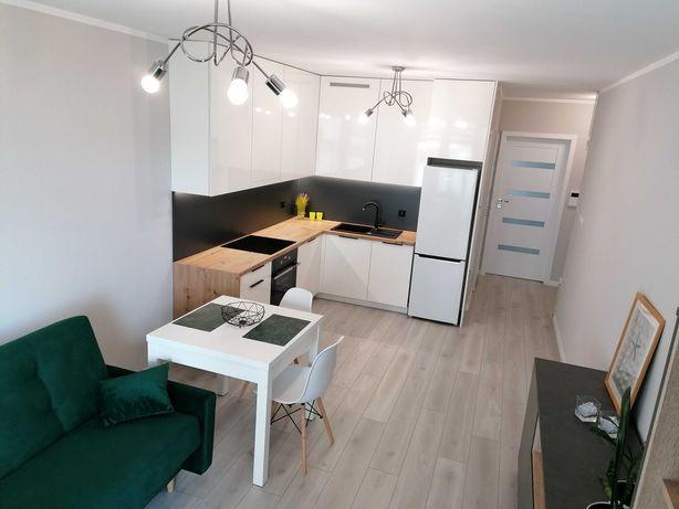 Wynajmę Nowe 2-pok mieszkanie z zielonym tarasem, ul.Filipowicza, 39m2
