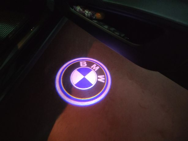 Lâmpadas para iluminação portas BMW