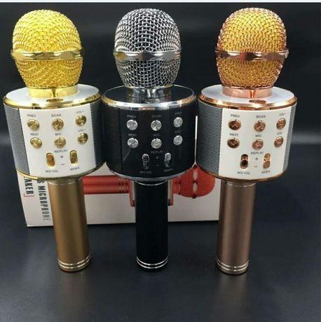 Bluetooth микрофон-караоке DM Karaoke WS-858