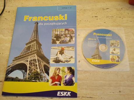 Lekcje 1-2 Francuski dla początkujących +CD