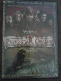 Piratas das Caraíbas /Nos Confins do Mundo/ - 2 DVD ORIGINAL
