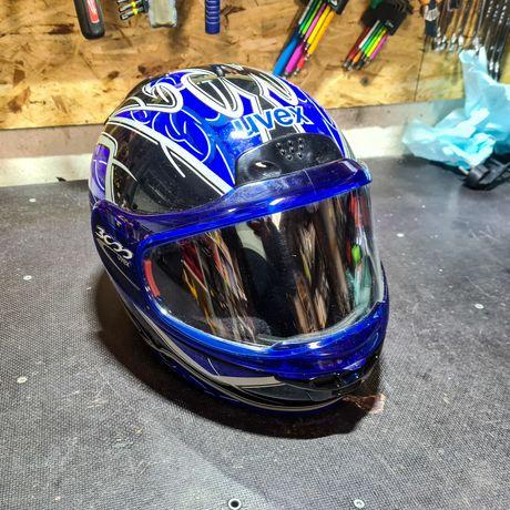 Trzy Kaski Motocyklowe UVEX MTR CENA ZA 2 Sztuki