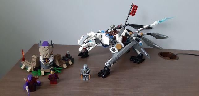Lego ninjago tytanowy smok 70748