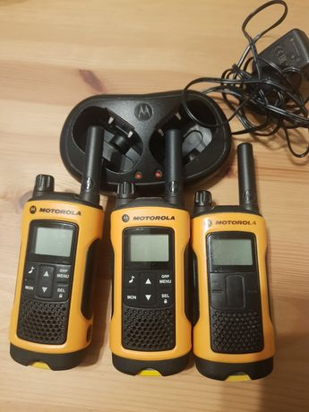 3 X Motorola T80 Extreme ładowarka
