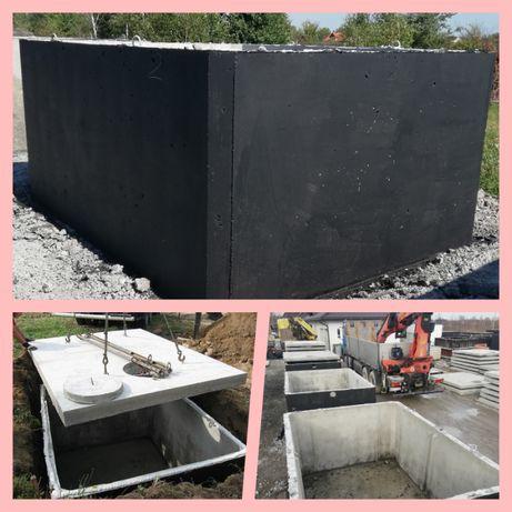 szambo betonowe PRODUCENT Bełchatów Ludwików Dobrzelów
