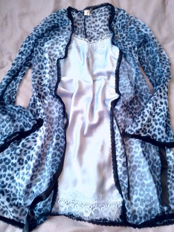 Комплект пеньюар с халатом