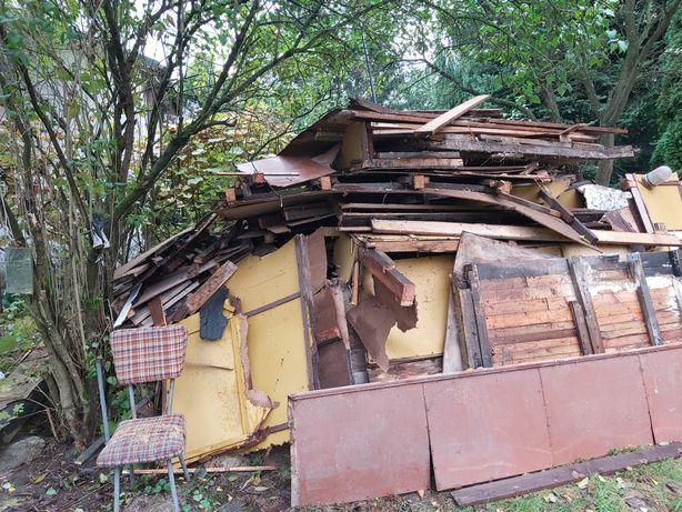 Oddam drewno i meble z rozbiórki altany dzialkowej