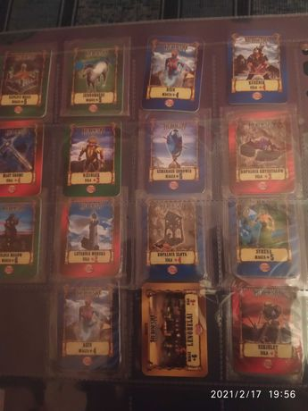 Karty z chipsów Heroes IV